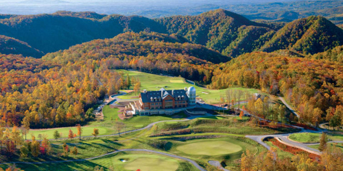 Primland Resort - The Highland Course Virginia golf packages